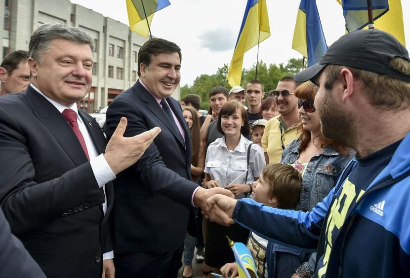 Porošenko vymenoval Saakašviliho za šéfa Odeskej oblasti