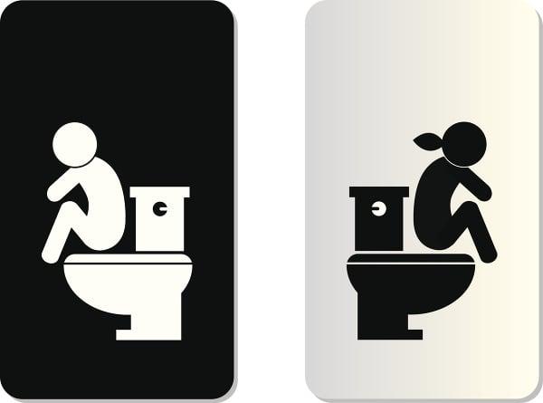 Tieto zvyky na toalete vás môžu pripraviť o život: Šokuje vás, aký je správny spôsob vykonávania veľkej potreby!