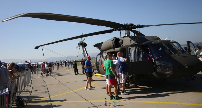 Na Slovensku vznikne unikátne výcvikové centrum pre vrtuľníky Black Hawk