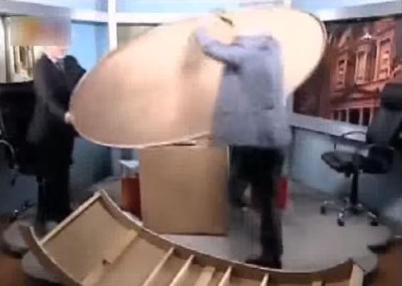 Diskusia v Jordánskej televízii sa zvrhla
