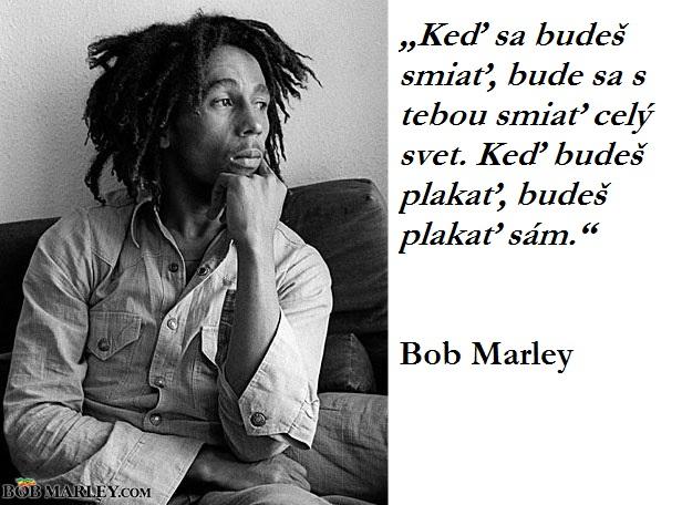 CITÁT DŇA: Krutá pravda Boba Marleyho