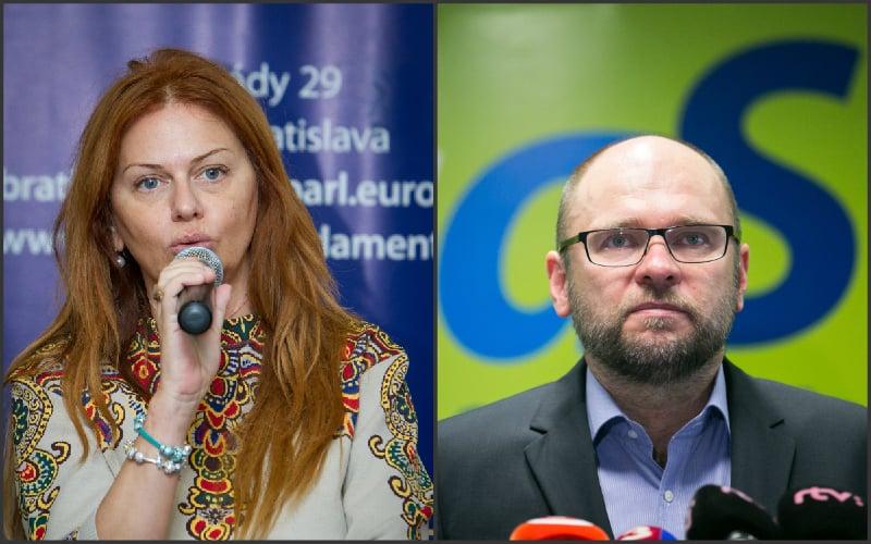 Flašíková vymazala Sulíka: Drsná hádka, správa sa k dáme ako chrapúň