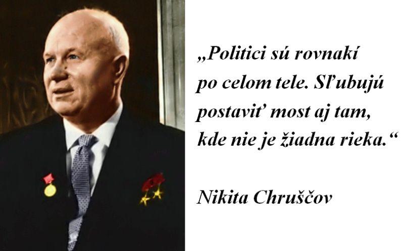CITÁT DŇA: Politici a mosty