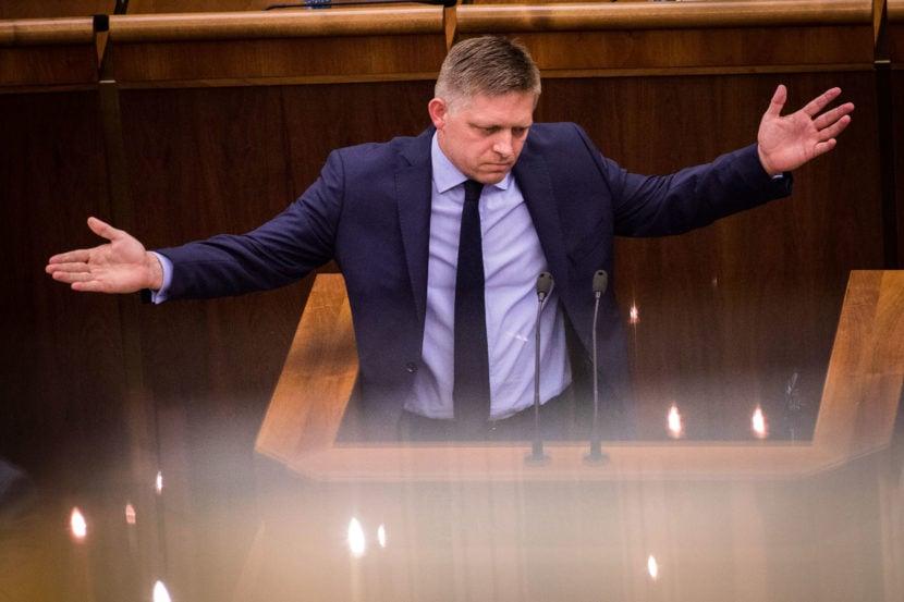 Ficov plamenný prejav: Kritizoval opozíciu, Kaliňáka obhajoval