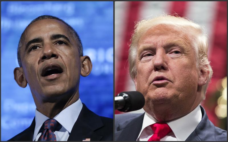 Ako by vyzeral telefonát Trumpa a Obamu? Americký komik v tom má jasno