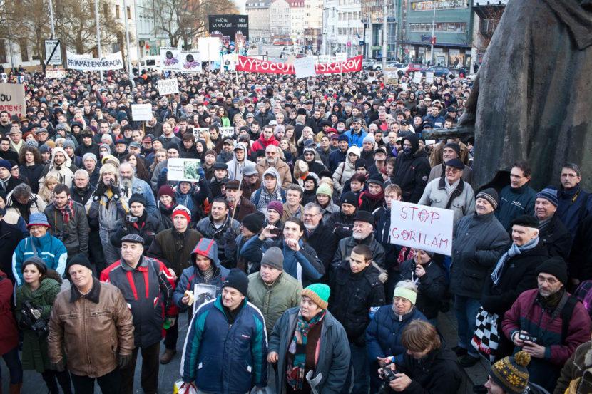 Tvrdé reakcie na protest proti Gorile: Nahnevaný poslanec a slová o príživníkoch!