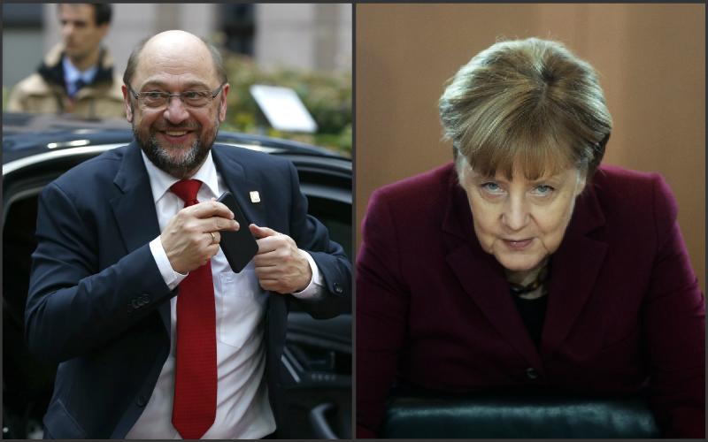 Schulz sa nevzdáva: Je presvedčený, že môže Merkelovú poraziť