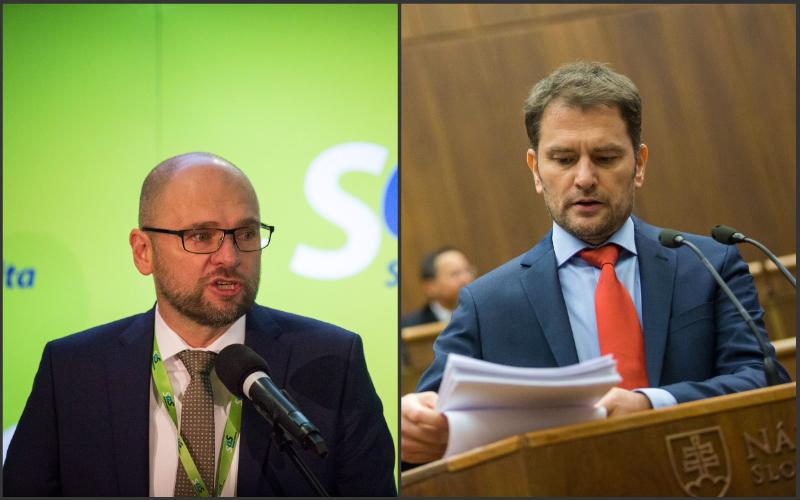SaS a OĽaNO podpísali dohodou o spolupráci v župných voľbách