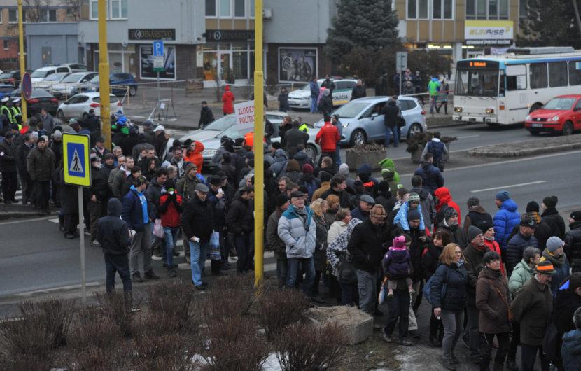 Bratislava protest Prešovčanov zakázala