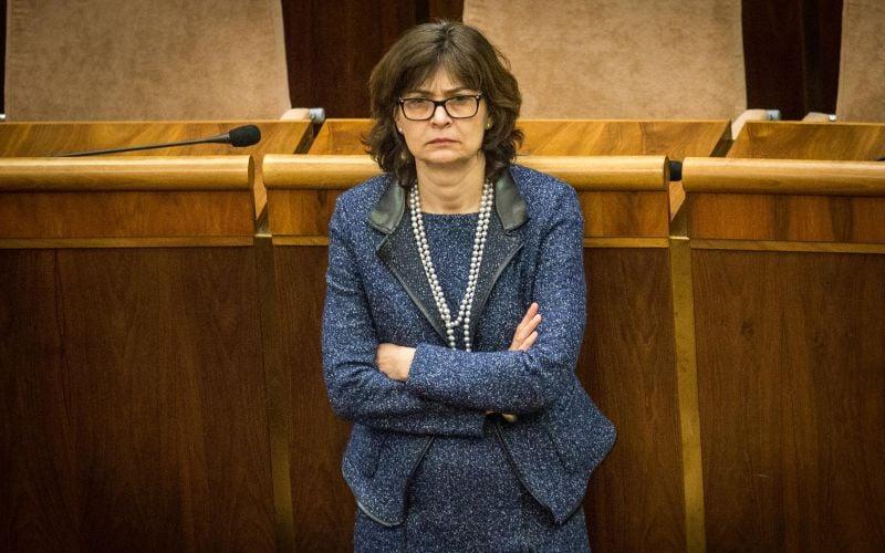 Žitňanská: Súdna rada môže byť doplnená pred voľbou do súdu EÚ