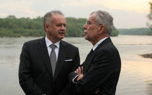 Kiska sa stretol s Van der Bellenom: Rakúsko je silný a stabilný partner