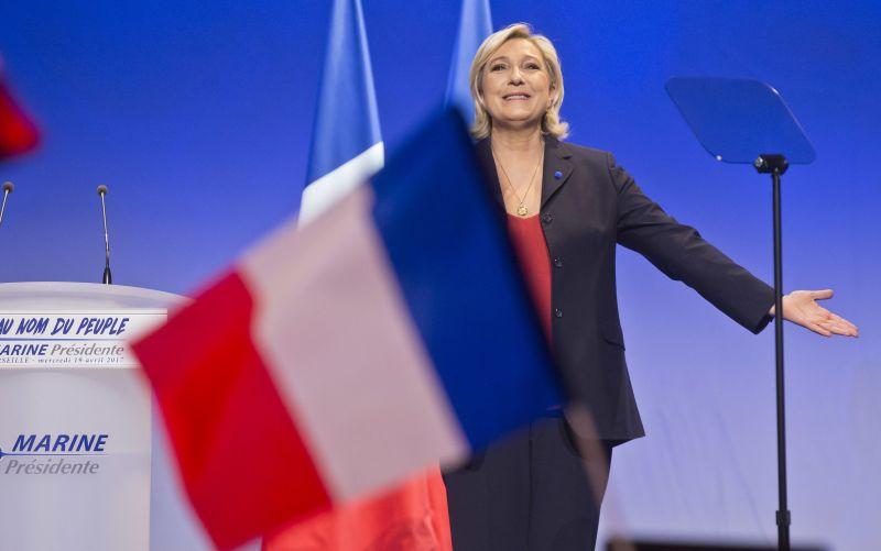 V prípade víťazstva obnovím hraničné kontroly, povedala Le Penová