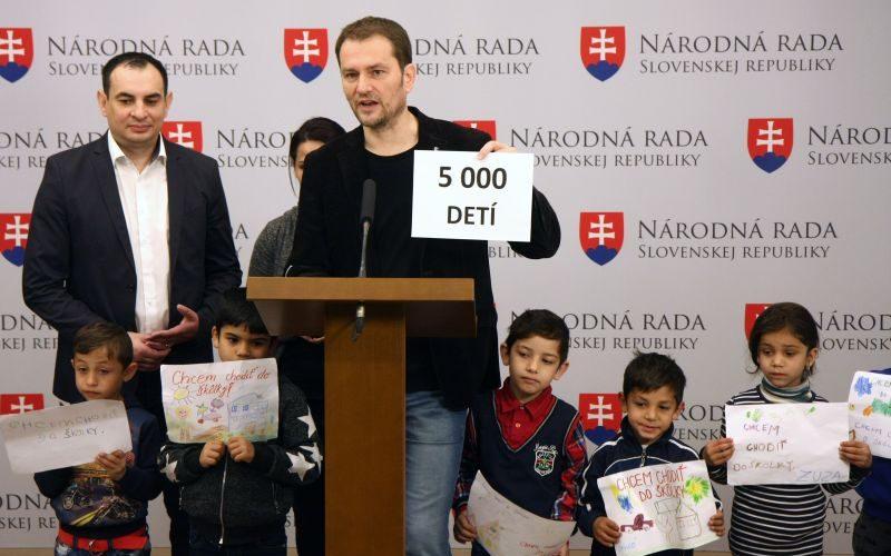 OĽaNO chce povinnú predškolskú dochádzku pre rómske deti