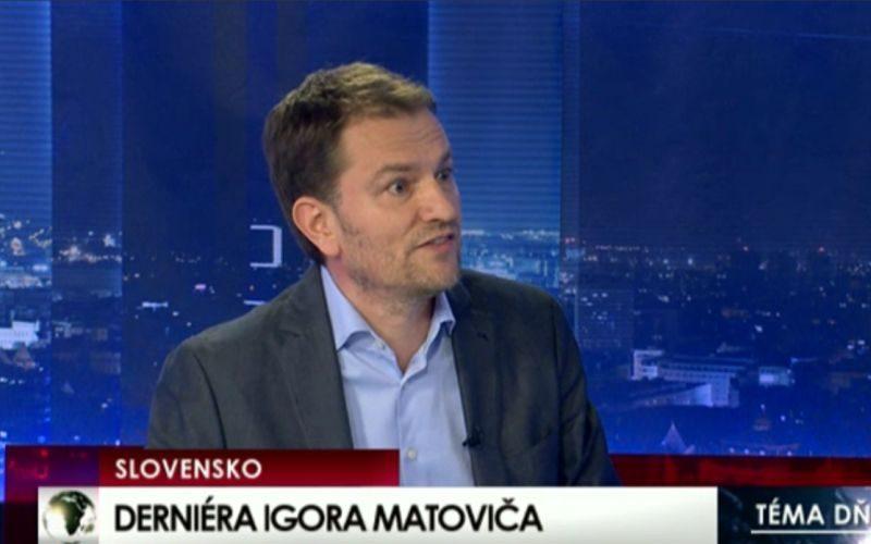 VIDEO Matovič obhajoval svoje konanie: Ohnivá debata s moderátorom, tvrdé slová analytika!