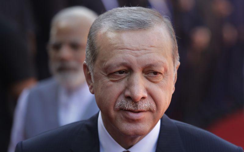 Turecký prezident Recep Tayyip Erdogan kritizuje NATO