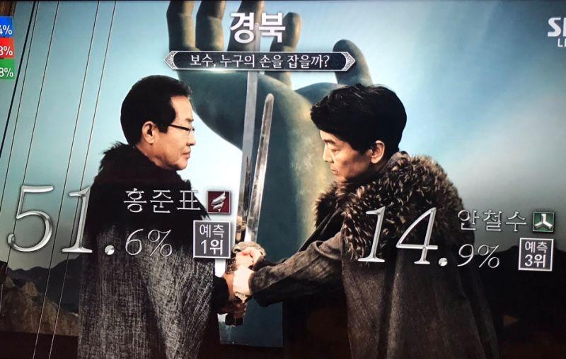 VIDEO Politici ako hrdinovia na drakoch, originálne video: Hra o tróny v Južnej Kórei