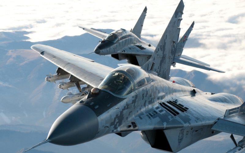 Poplach nad Slovenskom: Zasahovať museli naše MiGy