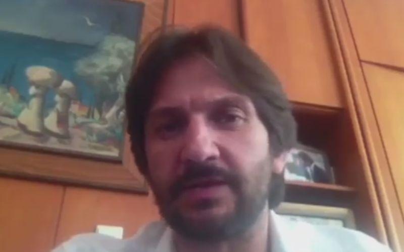 VIDEO Kaliňák zaútočil na študenta z protestov: A prehovoril aj o Bašternákovi