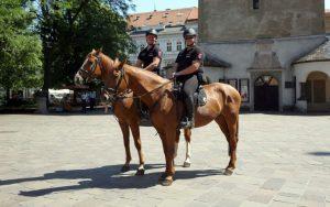 FOTO Rarita v centre Košíc: Policajná jednotka, ktorú majú ako jediní na Slovensku
