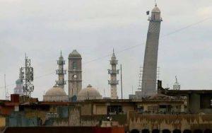 Daeš zničil slávnu mešitu. V roku 2004 v nej vyhlasovali kalifát