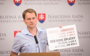 Matovič znovu na verejnosti, jasný odkaz oponentom: Pokutu nezaplatím!