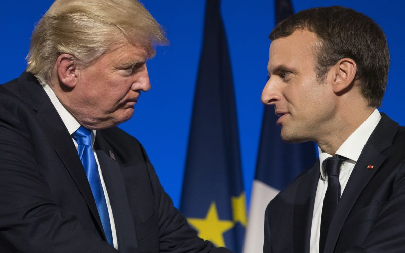 Trump po stretnutí s Macronom: Medzi Francúzskom a USA je nezničiteľné puto