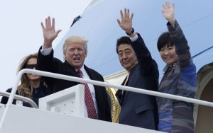 Vybabrala s americkým prezidentom: Prvá dáma Japonska zosmiešnila Trumpa
