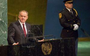 Prezident v rečnil v OSN: Hovoril o Rusku, KĽDR aj klimatických zmenách