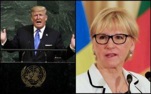 Trumpova historická reč v OSN: Zo Švédska to za prejav poriadne schytal