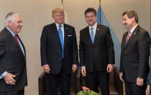 Lajčák sa stretol s Trumpom. O čom sa rozprávali?