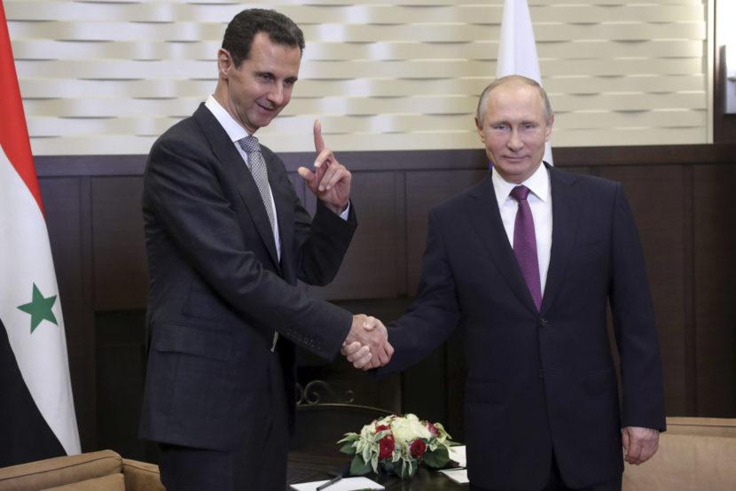 Putin sa stretol s Asadom: Na tomto sa zhodli