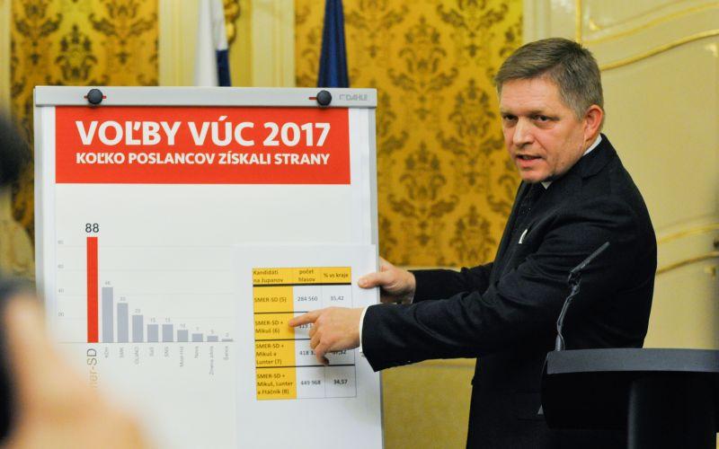 VIDEO Fico po voľbách: Vyhrali sme, hovoril aj o polobláznovi z Trnavy