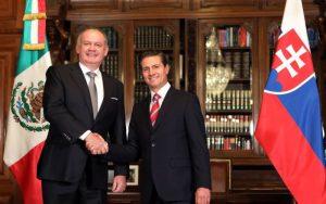 FOTO Kiska na návšteve Mexika. Stretol sa aj s prezidentom Nietom