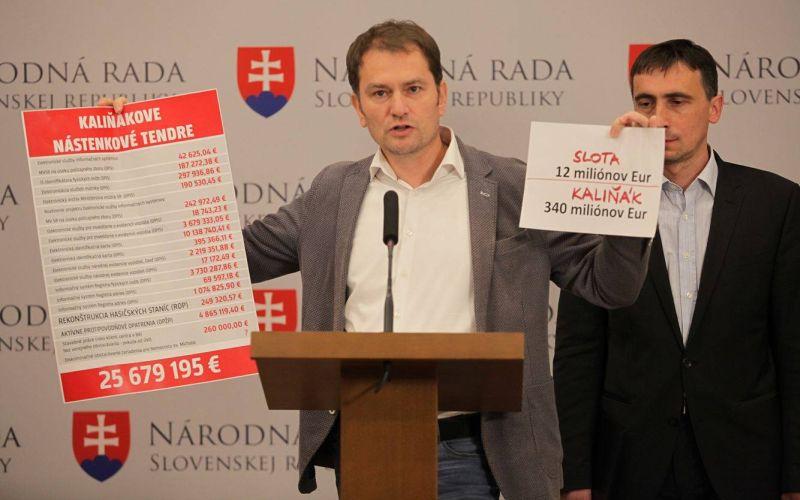 Matovič bilancoval: Slovensko má platiť milióny za chyby Kaliňáka