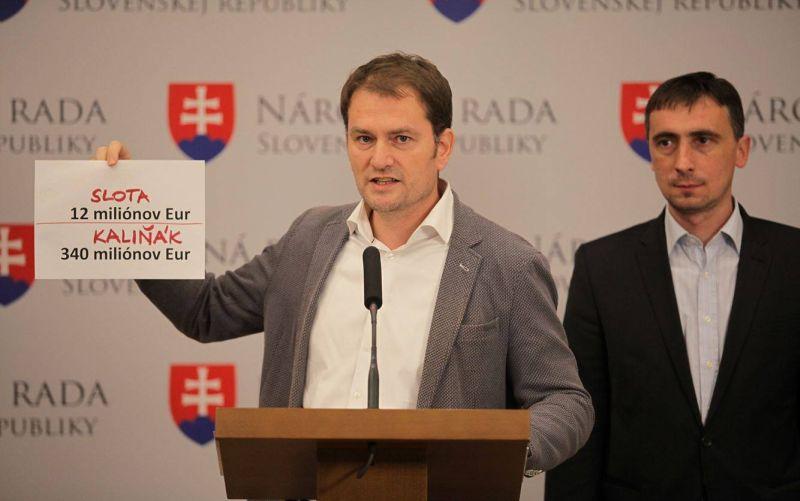 VIDEO Matovič o vyšetrovaní Kaliňáka: Trápne divadielko, vidia to aj voliči Smeru