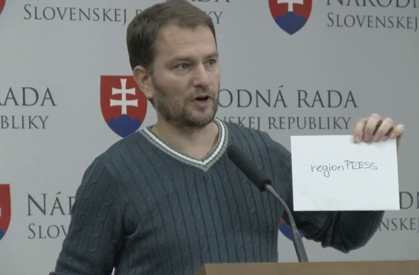 VIDEO Matovičov odkaz Kažimírovi ohľadom daní: Mal by mi pripnúť metál