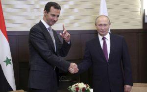 VIDEO Veľké stretnutie spojencov: Asad sa rozprával s Putinom