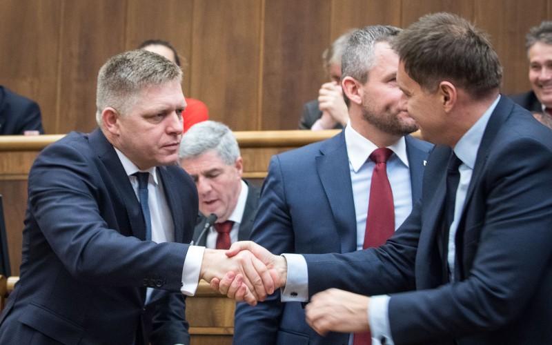 Novým podpredsedom Smeru by podľa Fica mal byť Richard Raši