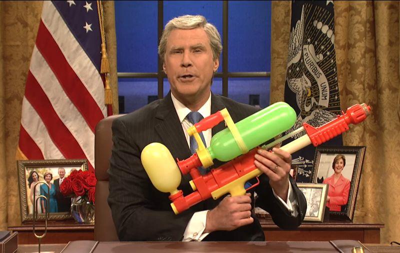 VIDEO George Bush sa pripomína: Bol som naozaj zlý, žartujú komici