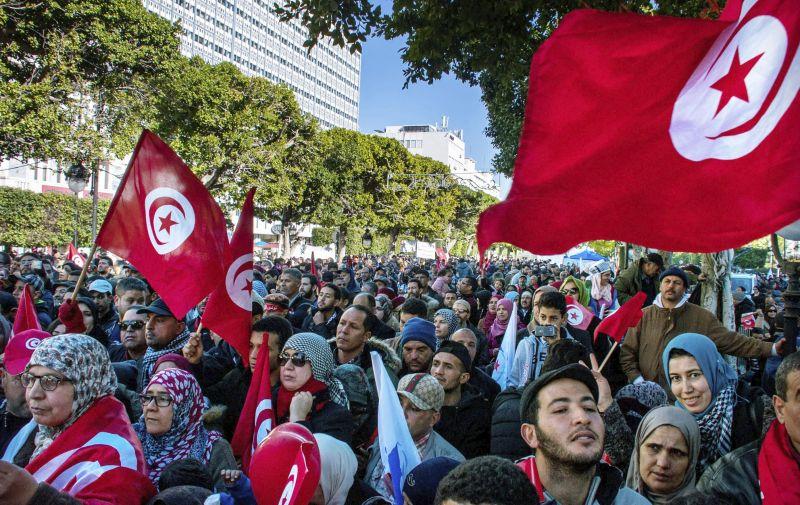 VIDEO Mohutné demonštrácie v Tunisku: Protesty proti zvyšovaniu cien