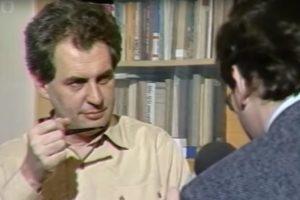 VIDEO Exkurzia do minulosti: Takýto bol Miloš Zeman v roku 1990
