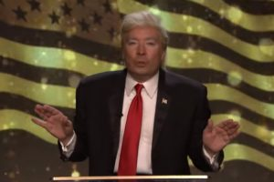 VIDEO Jimmy Fallon ako Donald Trump: Takto odovzdával ceny za falošné správy