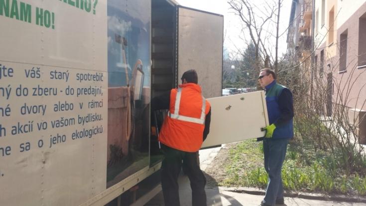 Jarný zber elektroodpadu v Ružinove sa blíži