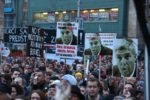 FOTO Nahnevaní Slováci po zrušení bratislavského protestu: Obrovská chyba, cítia sa podvedení