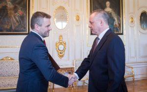 Pellegrini sa stretol s Kiskom. Očakáva vymenovanie novej vlády