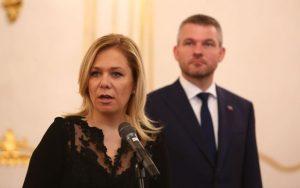 FOTO Kiska vymenoval Sakovú za novú ministerku vnútra