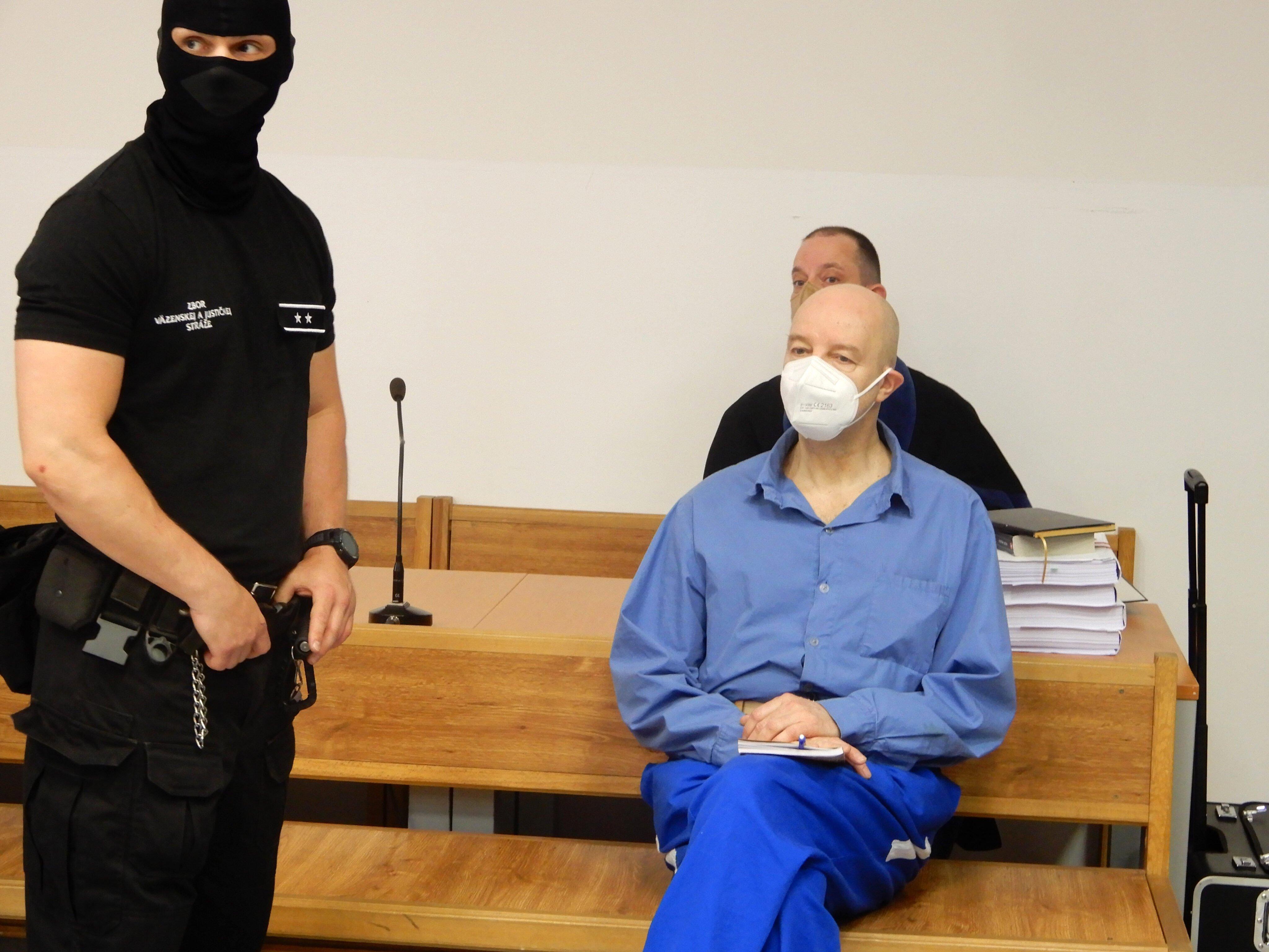 Pavol Rusko na procese v prípade vraždy obchodnej partnerky Volzovej. Zdroj: TASR
